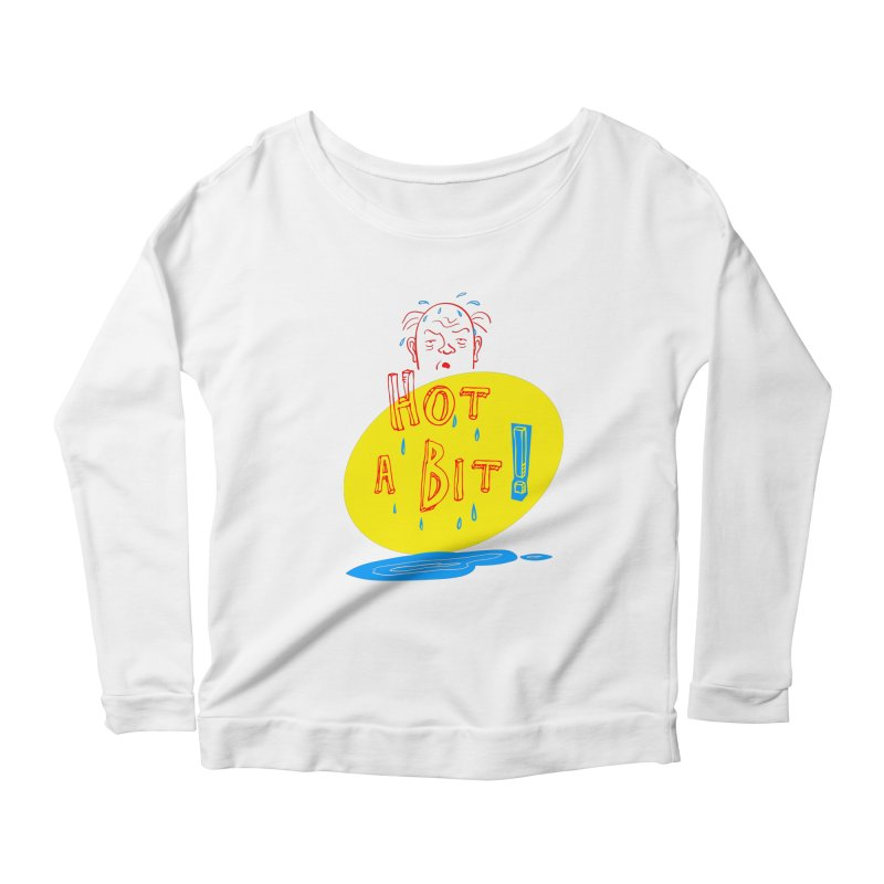 Summer Hot! Women's Scoop Neck Longsleeve T-Shirt by sleepwalker's Artist Shop