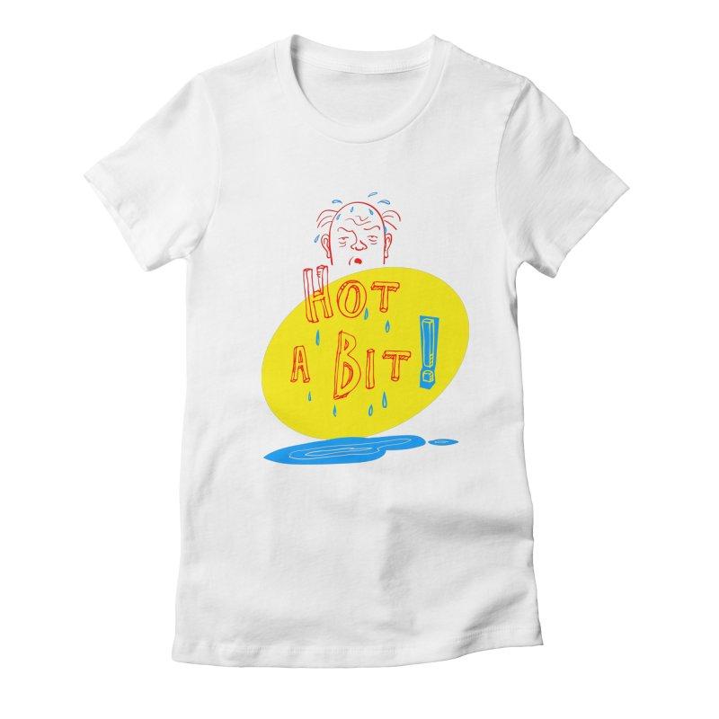 Summer Hot! Women's Fitted T-Shirt by sleepwalker's Artist Shop