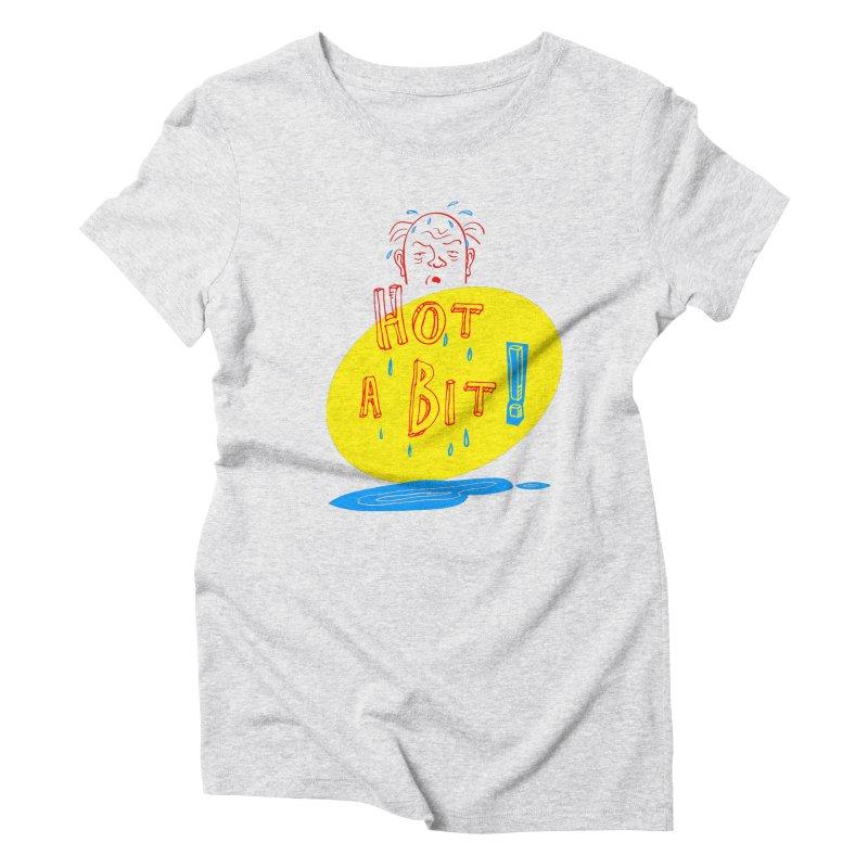 Summer Hot! Women's Triblend T-Shirt by sleepwalker's Artist Shop