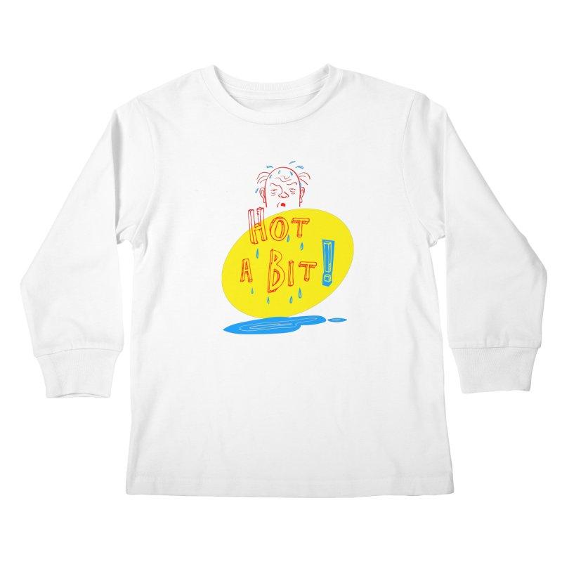 Summer Hot! Kids Longsleeve T-Shirt by sleepwalker's Artist Shop