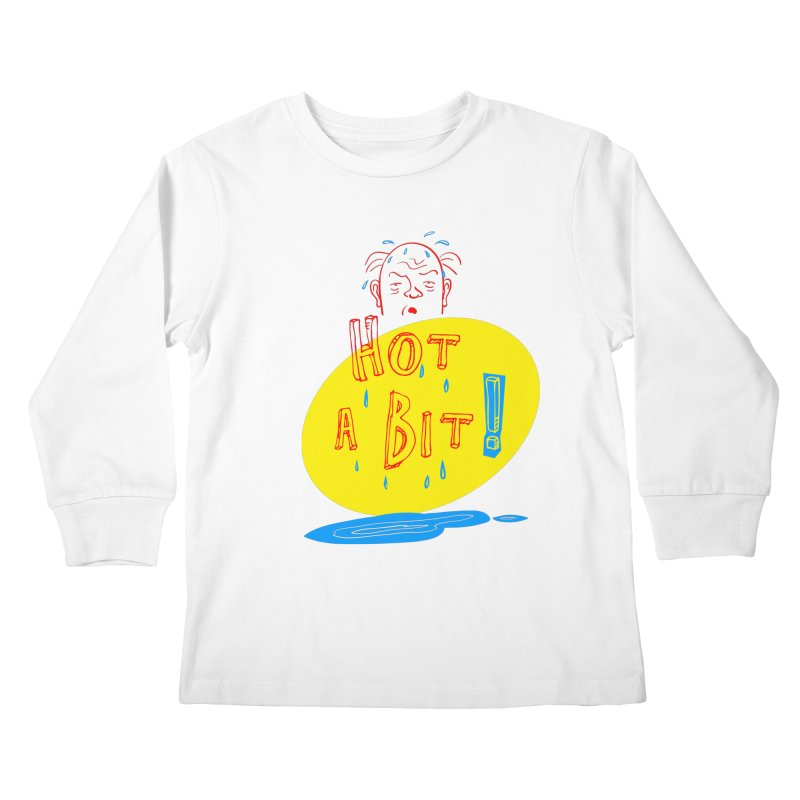 Summer Hot! Kids Longsleeve T-Shirt by sleepwalker's Artist Shop