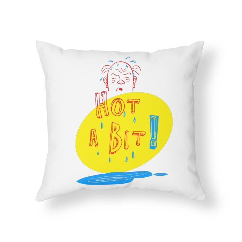 Summer Hot! Home Throw Pillow by sleepwalker's Artist Shop