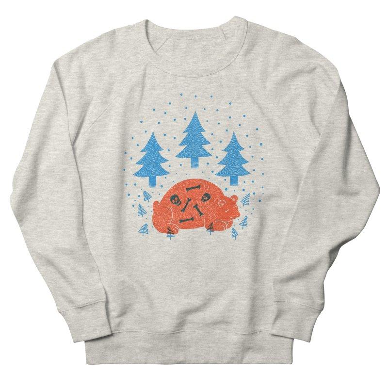 B A R E •  B O N E S in Men's Sweatshirt Heather Oatmeal by S L E E P Y ∙ D O L P H I N