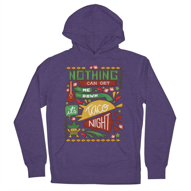 Taco Night Women's Pullover Hoody by Slogantees