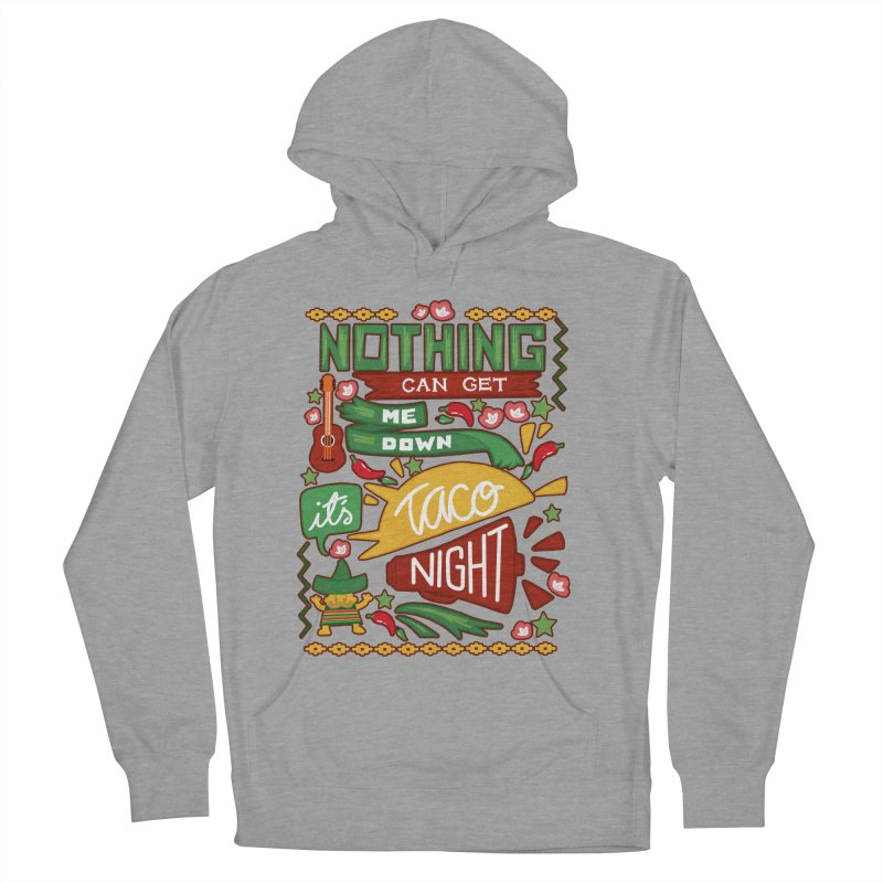 Taco Night Men's Pullover Hoody by Slogantees