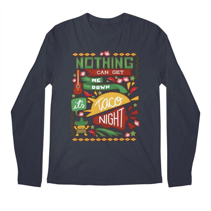 Taco Night Men's Longsleeve T-Shirt by Slogantees