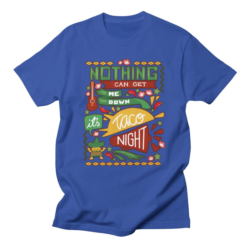 Taco Night Men's T-shirt by Slogantees