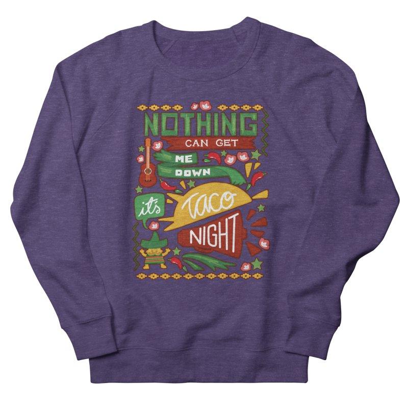 Taco Night Women's Sweatshirt by Slogantees