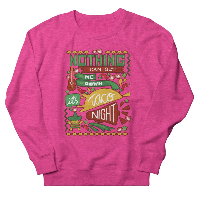 Taco Night Men's Sweatshirt by Slogantees