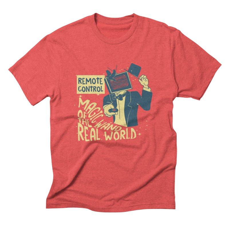 Magic Wand Men's Triblend T-Shirt by Slogantees