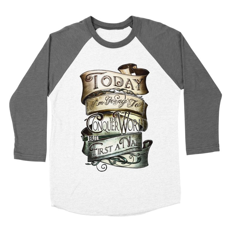 Today the World Women's Baseball Triblend T-Shirt by Slogantees