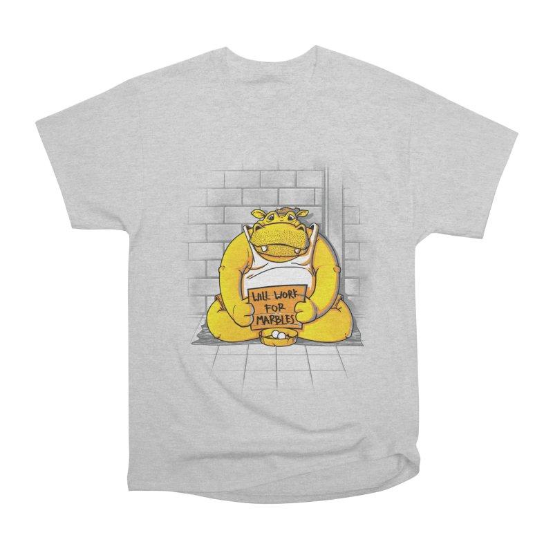 Hungry Hungry Hobo Women's Heavyweight Unisex T-Shirt by Slogantees