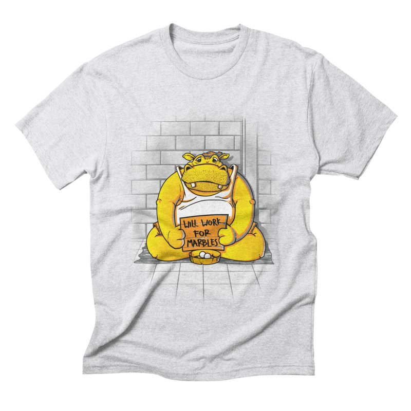 Hungry Hungry Hobo Men's Triblend T-Shirt by Slogantees