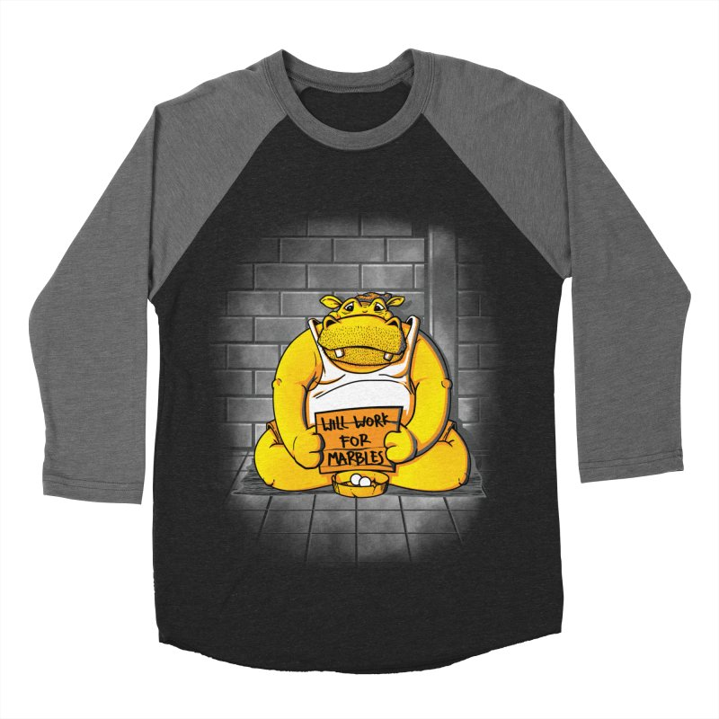 Hungry Hungry Hobo Women's Baseball Triblend T-Shirt by Slogantees
