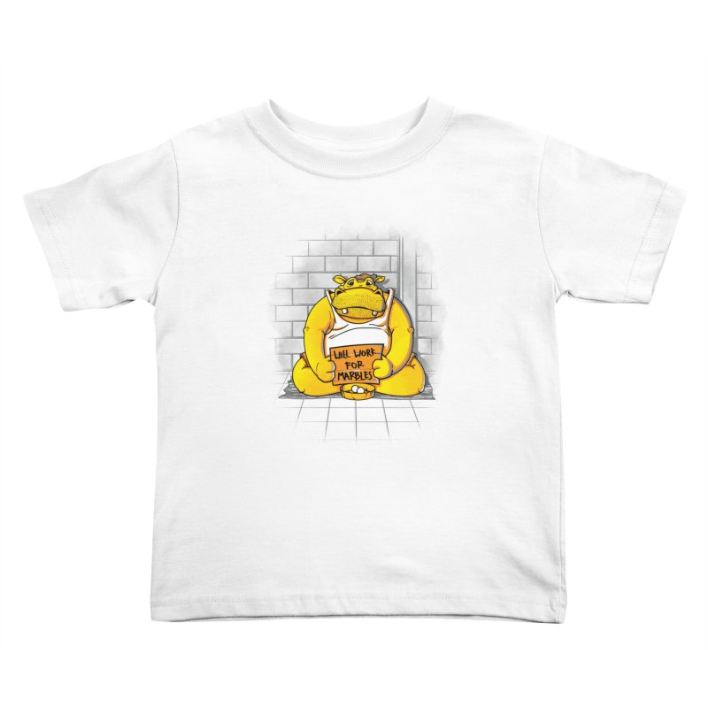 Hungry Hungry Hobo Kids Toddler T-Shirt by Slogantees