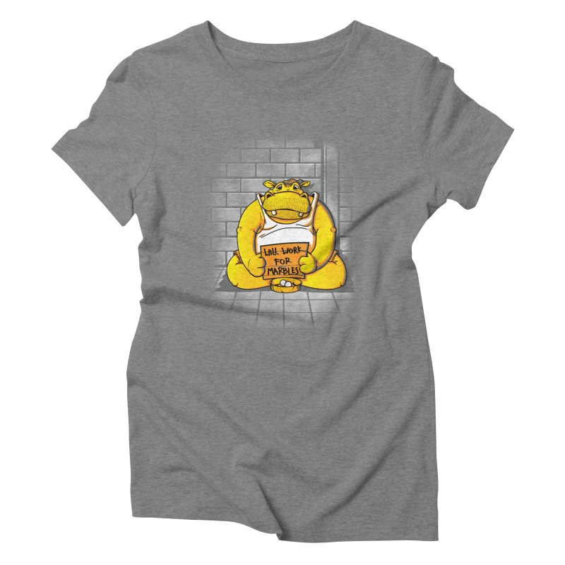 Hungry Hungry Hobo Women's Triblend T-Shirt by Slogantees