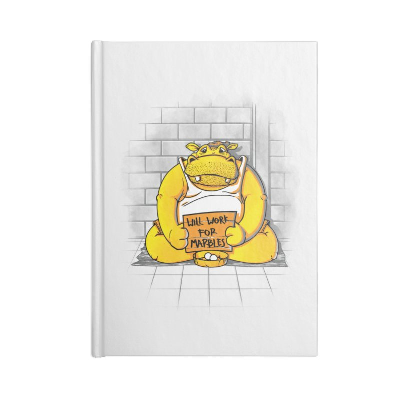 Hungry Hungry Hobo Accessories Notebook by Slogantees