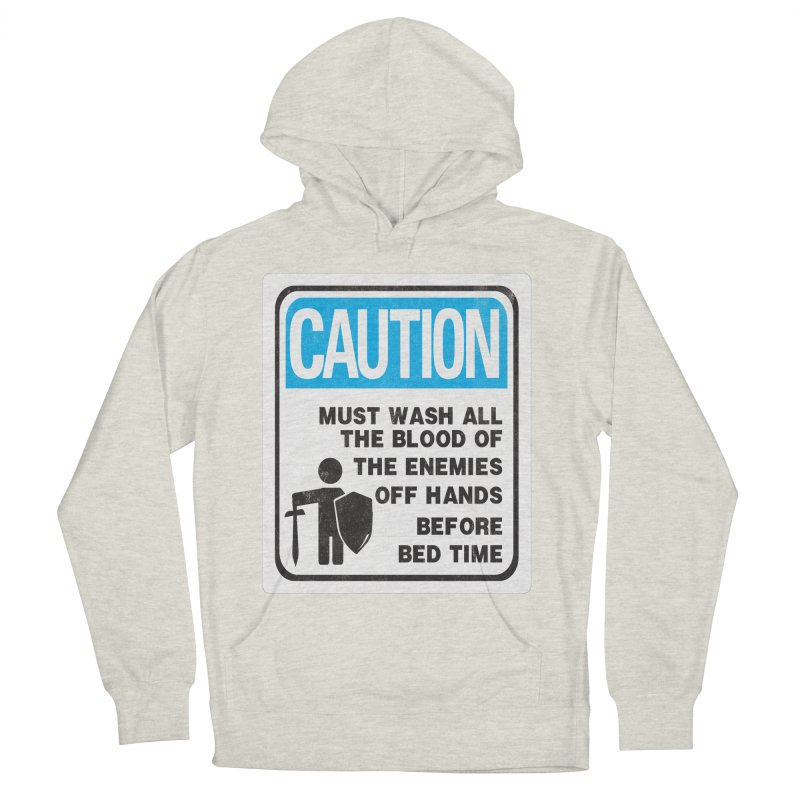 Wash Your Hands Men's Pullover Hoody by Slogantees
