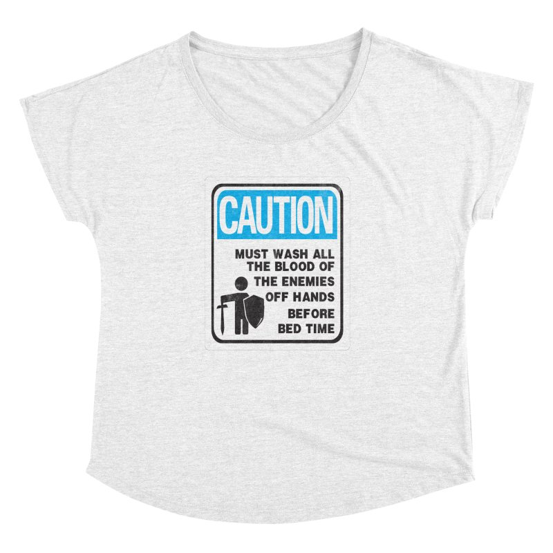 Wash Your Hands Women's Dolman by Slogantees