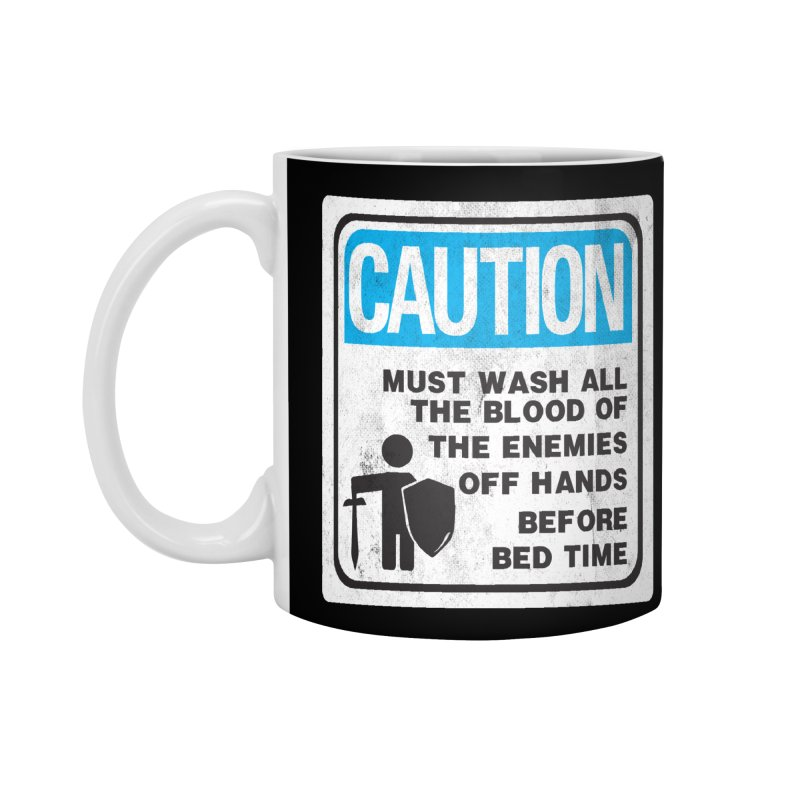 Wash Your Hands Accessories Mug by Slogantees