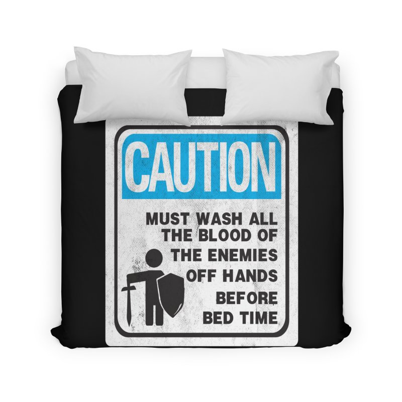 Wash Your Hands Home Duvet by Slogantees