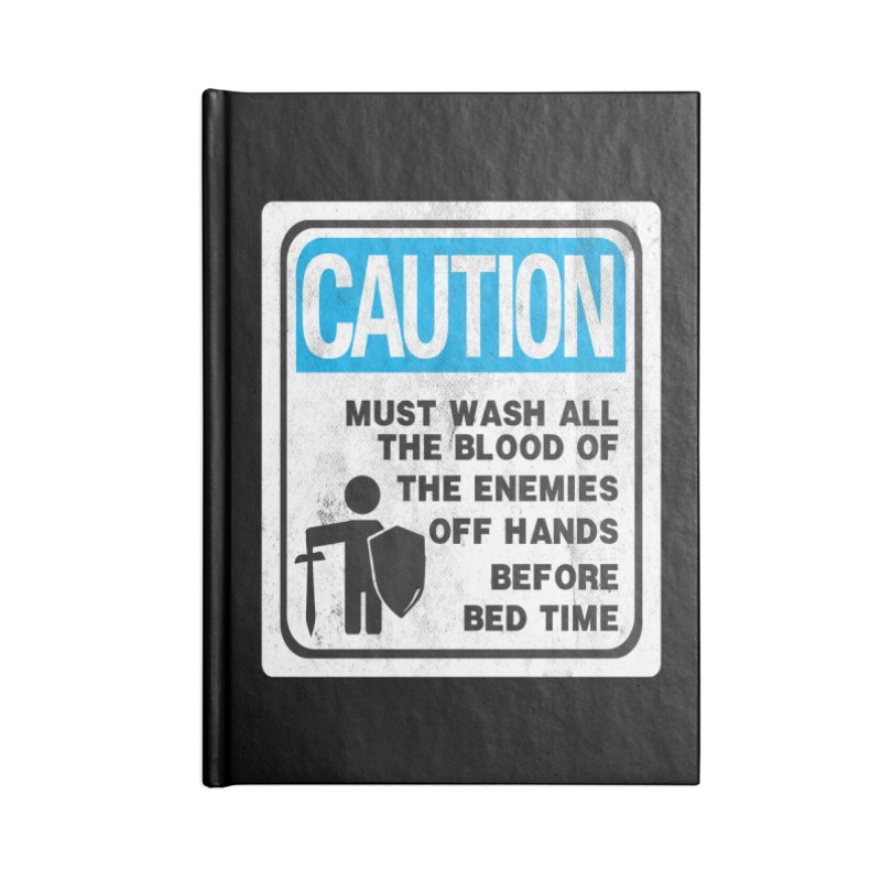 Wash Your Hands Accessories Notebook by Slogantees