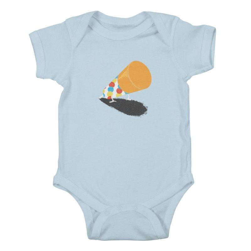 Push Up Kids Baby Bodysuit by Slogantees
