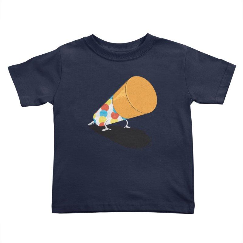 Push Up Kids Toddler T-Shirt by Slogantees