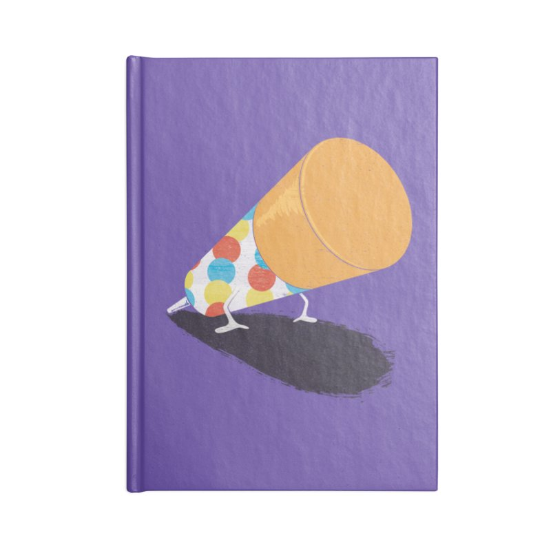 Push Up Accessories Notebook by Slogantees