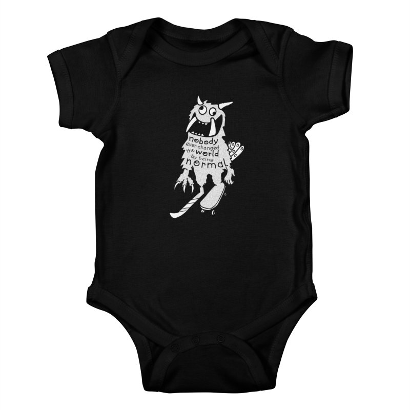 Change the World Kids Baby Bodysuit by Slogantees