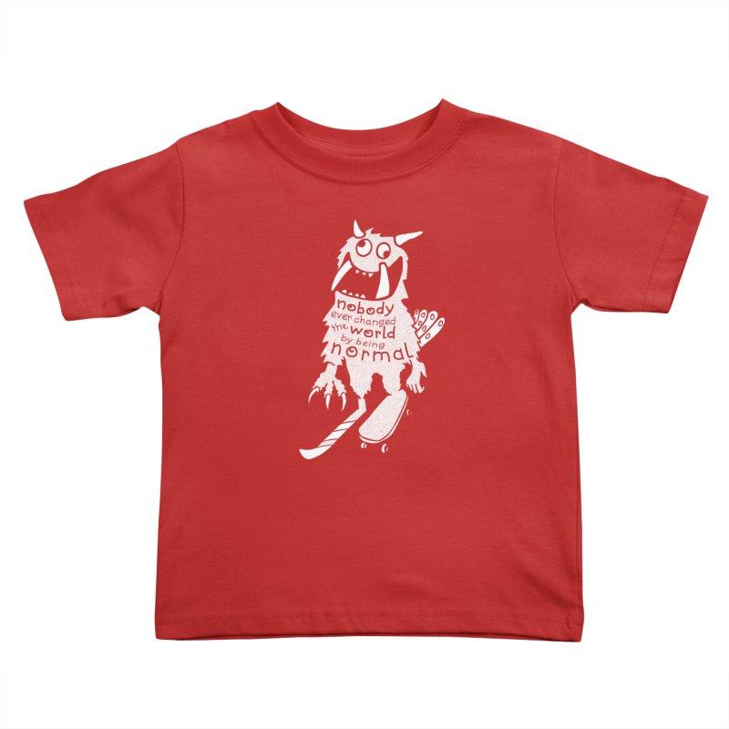 Change the World Kids Toddler T-Shirt by Slogantees
