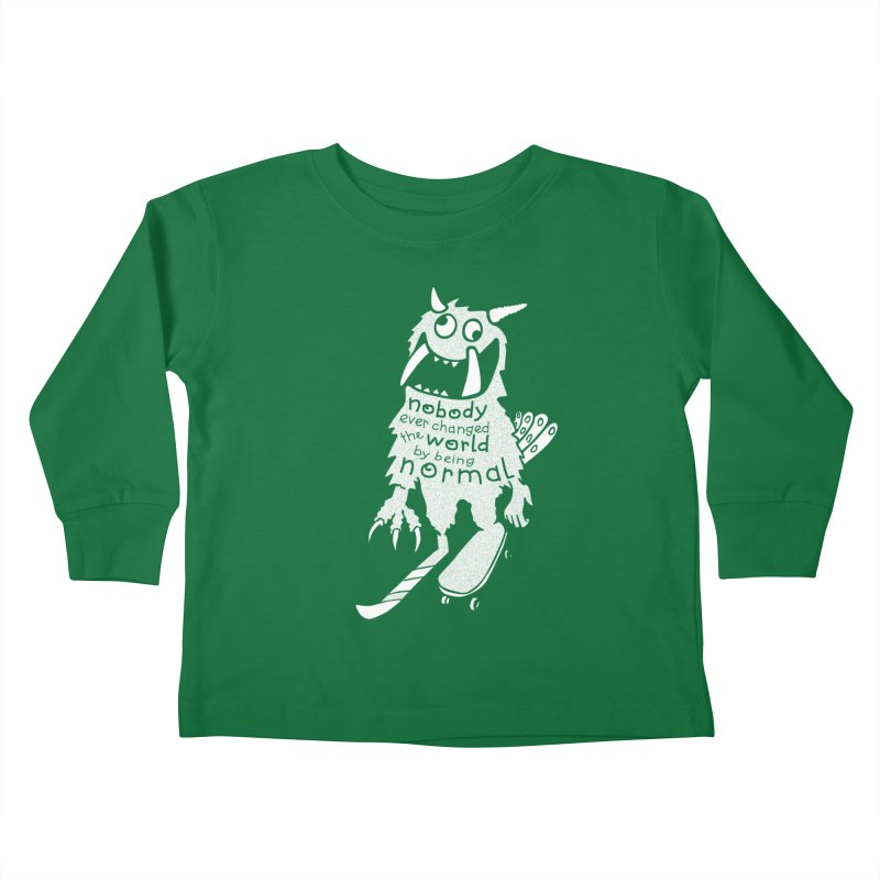 Change the World Kids Toddler Longsleeve T-Shirt by Slogantees