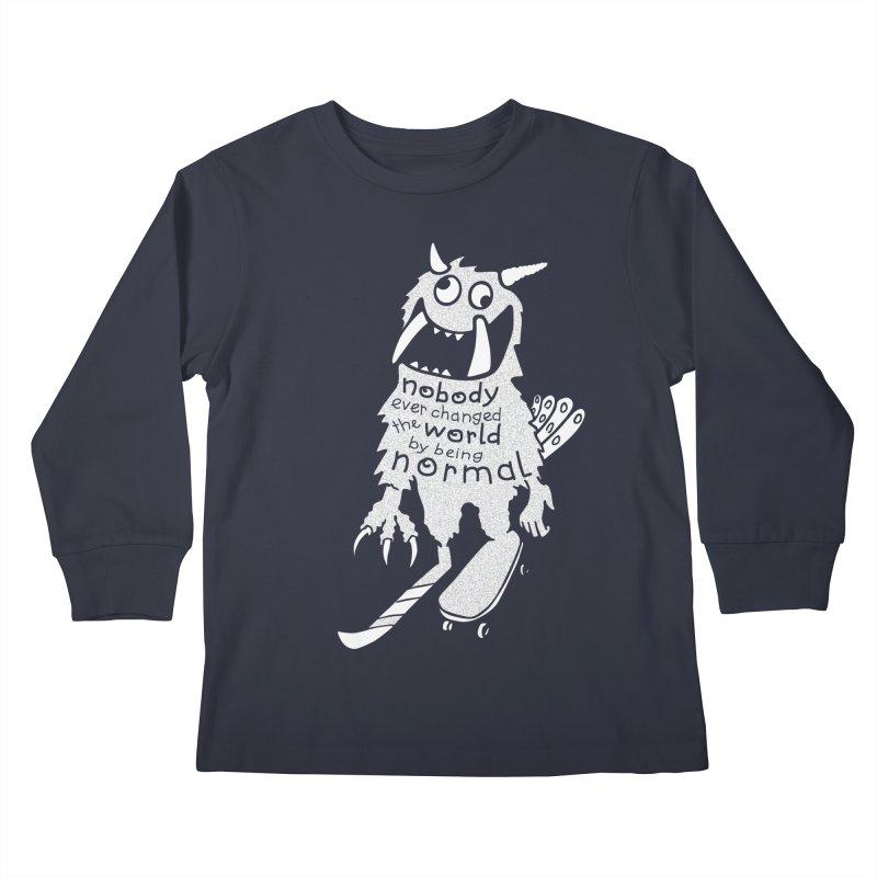 Change the World Kids Longsleeve T-Shirt by Slogantees