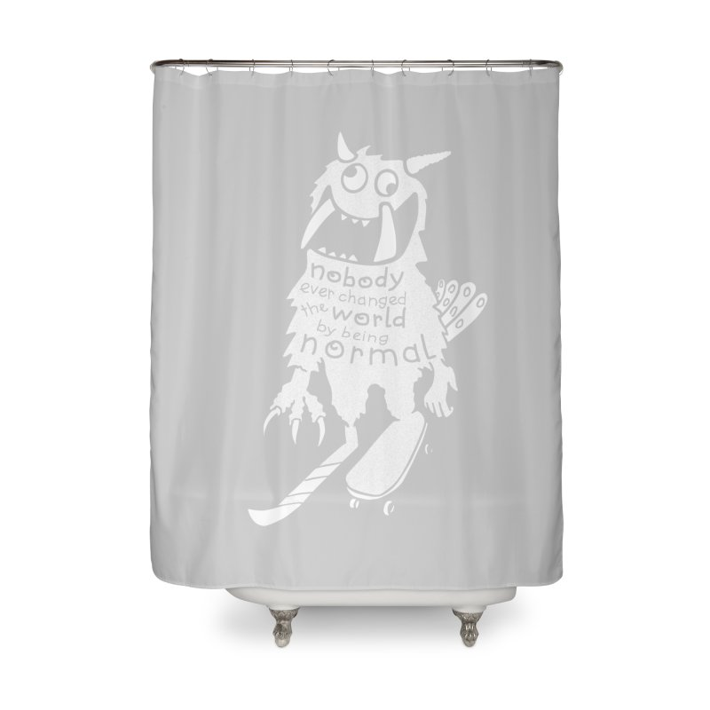Change the World Home Shower Curtain by Slogantees