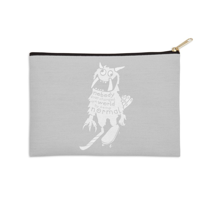 Change the World Accessories Zip Pouch by Slogantees