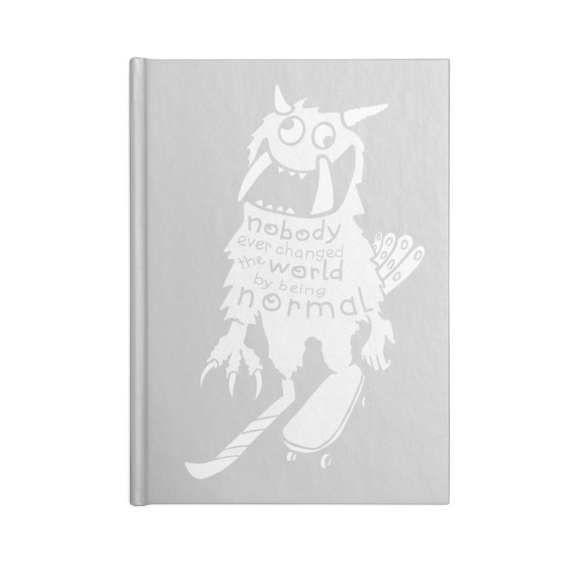 Change the World Accessories Notebook by Slogantees