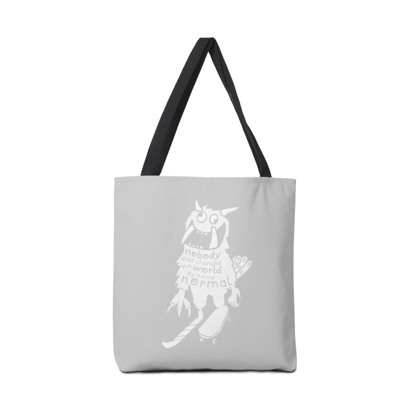 Change the World Accessories Bag by Slogantees