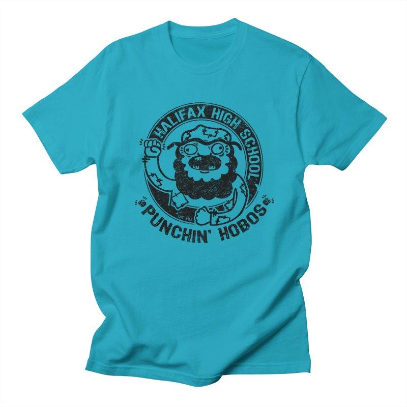 Punchin' Hobos Men's T-shirt by Slogantees