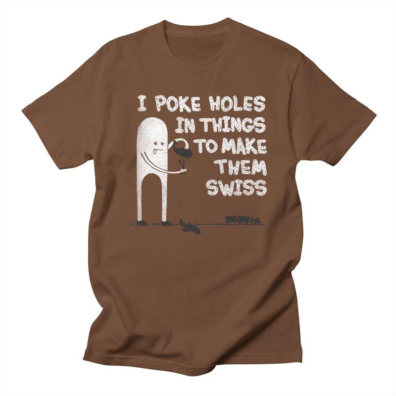 Making Swiss Happen Men's T-shirt by Slogantees