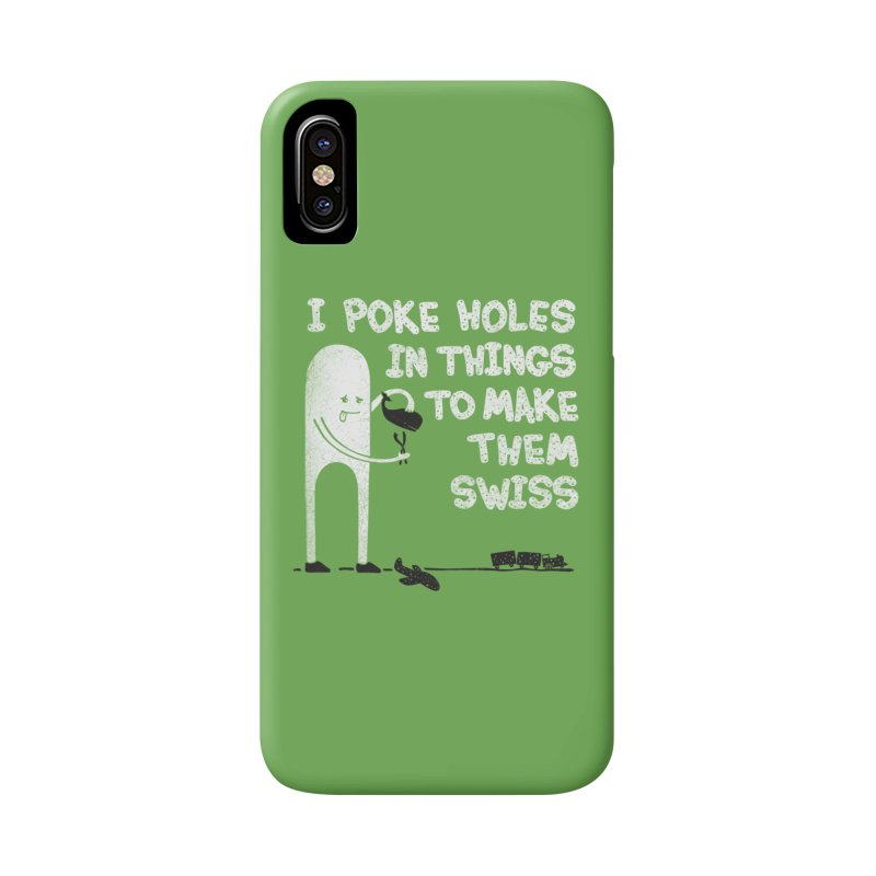 Making Swiss Happen Accessories Phone Case by Slogantees