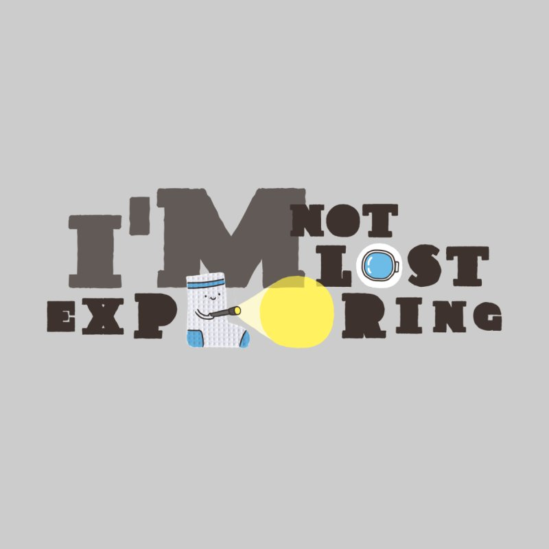 I'm Not Lost I'm Exploring Home Tapestry by Slogantees