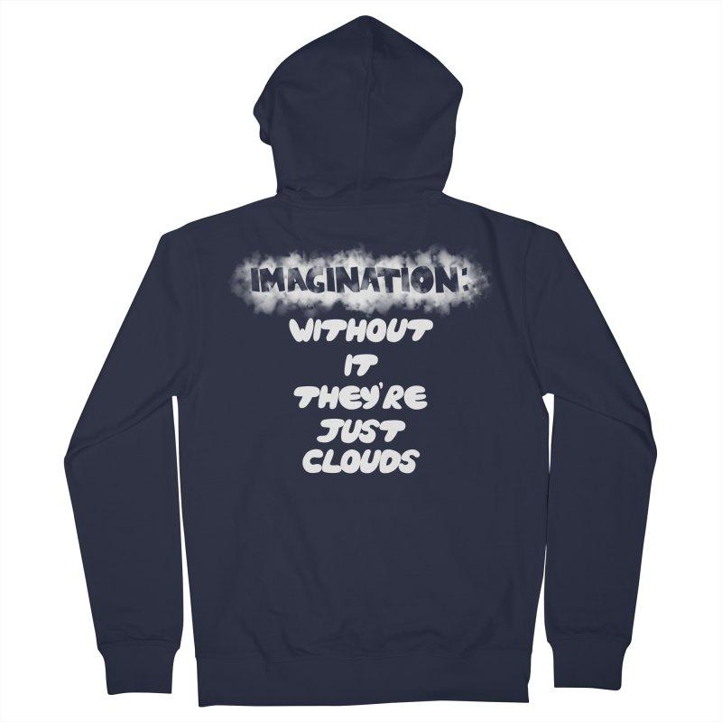Imagination Women's Zip-Up Hoody by Slogantees