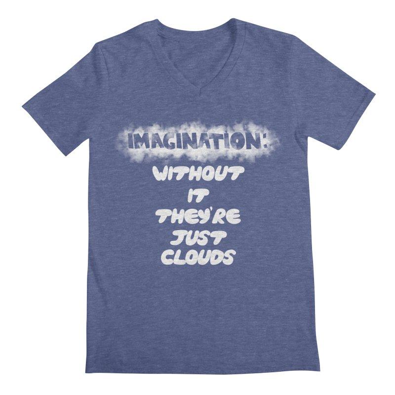 Imagination Men's V-Neck by Slogantees