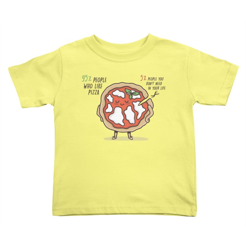 Who Needs Them!  Kids Toddler T-Shirt by Slogantees