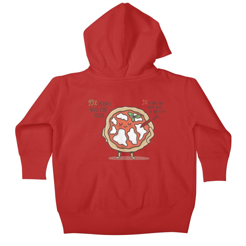 Who Needs Them!  Kids Baby Zip-Up Hoody by Slogantees