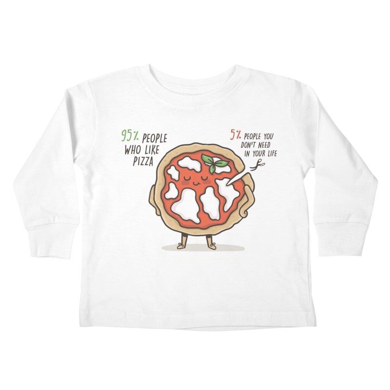 Who Needs Them!  Kids Toddler Longsleeve T-Shirt by Slogantees