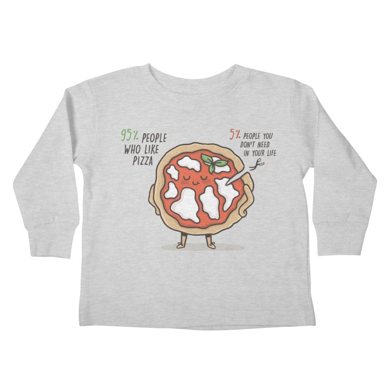 Who Needs Them!  Kids Toddler Longsleeve T-Shirt by Slogantees