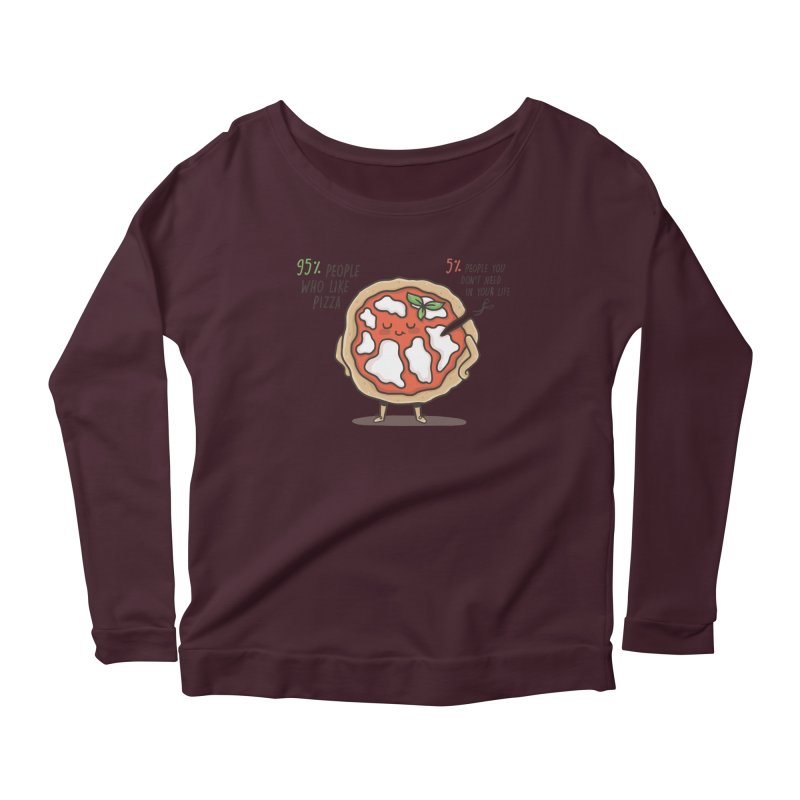 Who Needs Them!  Women's Longsleeve Scoopneck  by Slogantees