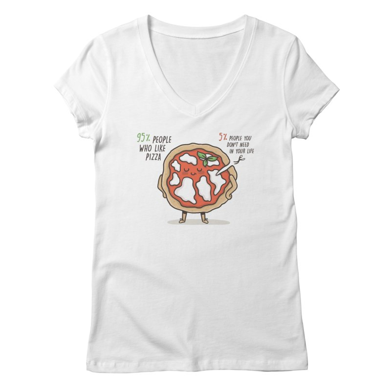 Who Needs Them!  Women's V-Neck by Slogantees