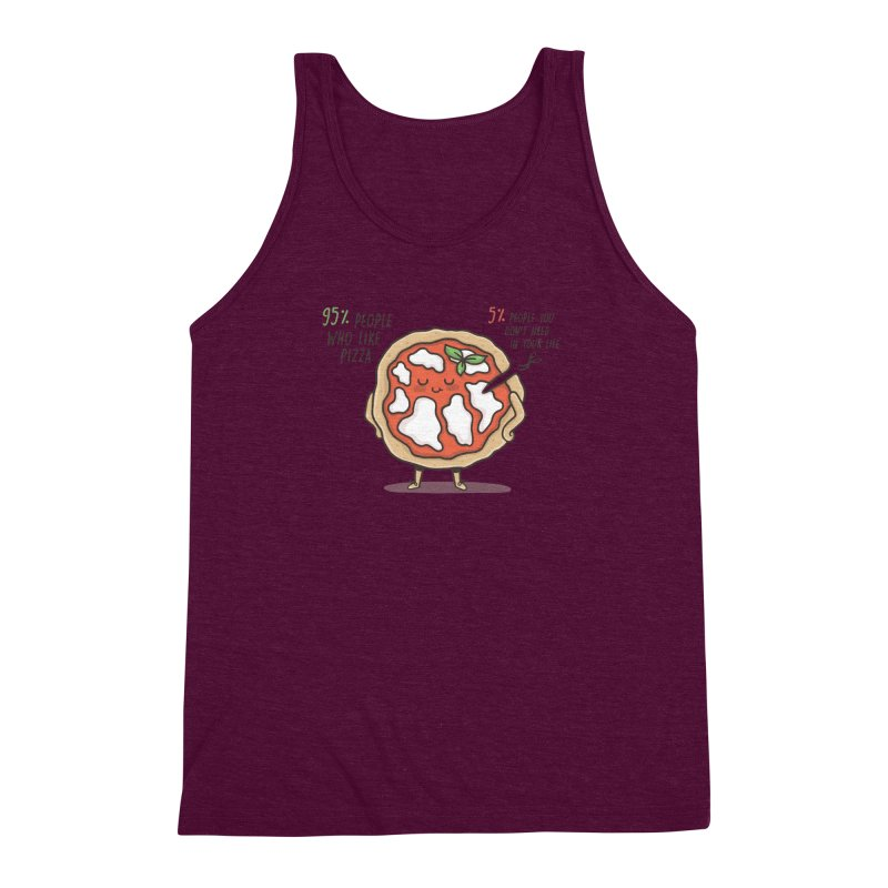 Who Needs Them!  Men's Triblend Tank by Slogantees